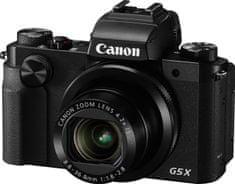 Canon PowerShot G5 X + Cashback 1000 Kč! + 500 Kč na fotoslužby
