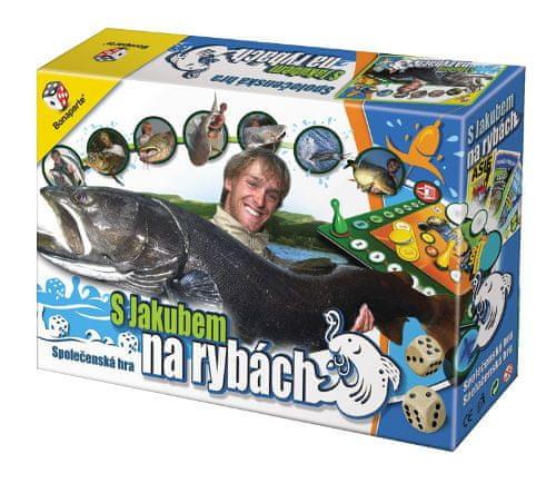 Bonaparte Společenská hra S Jakubem na rybách