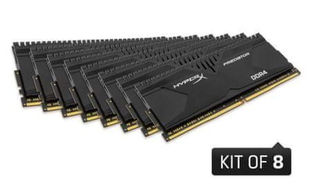 Kingston memorija (RAM) DDR4 64GB (8 x 8GB) PC2800 HX Savage (HX428C14SBK8/64)
