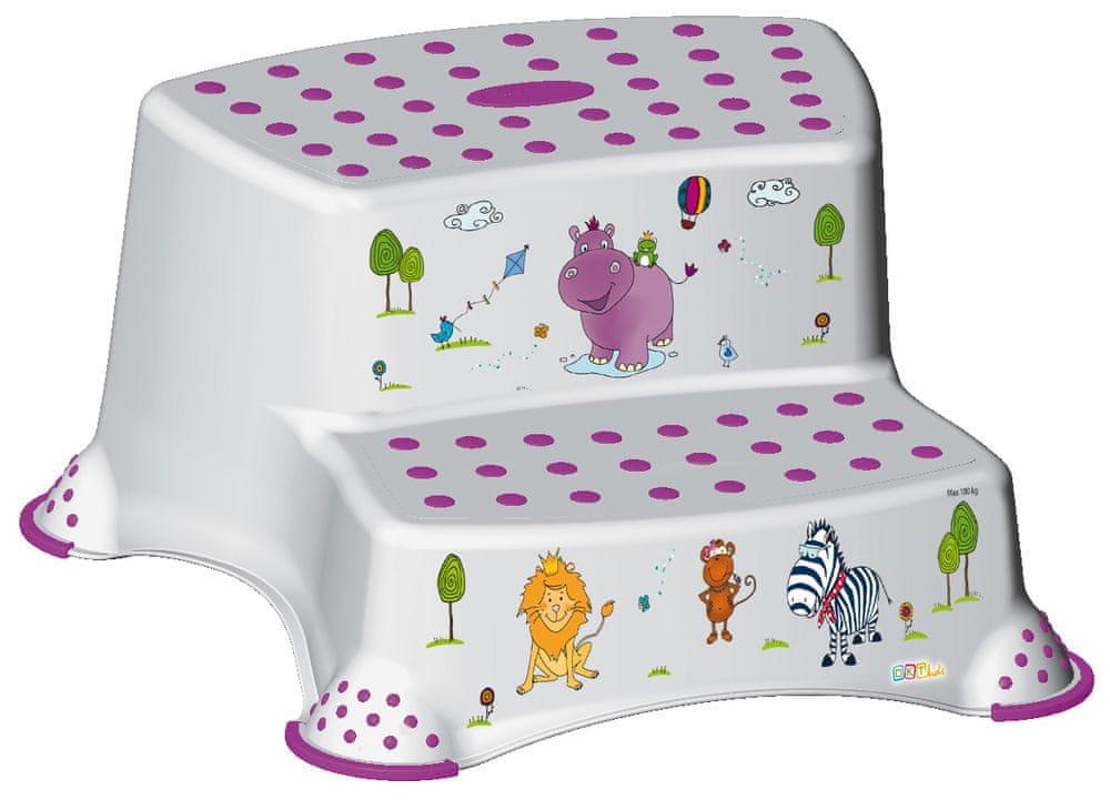 keeeper Dvojstupínek Hippo, bílá