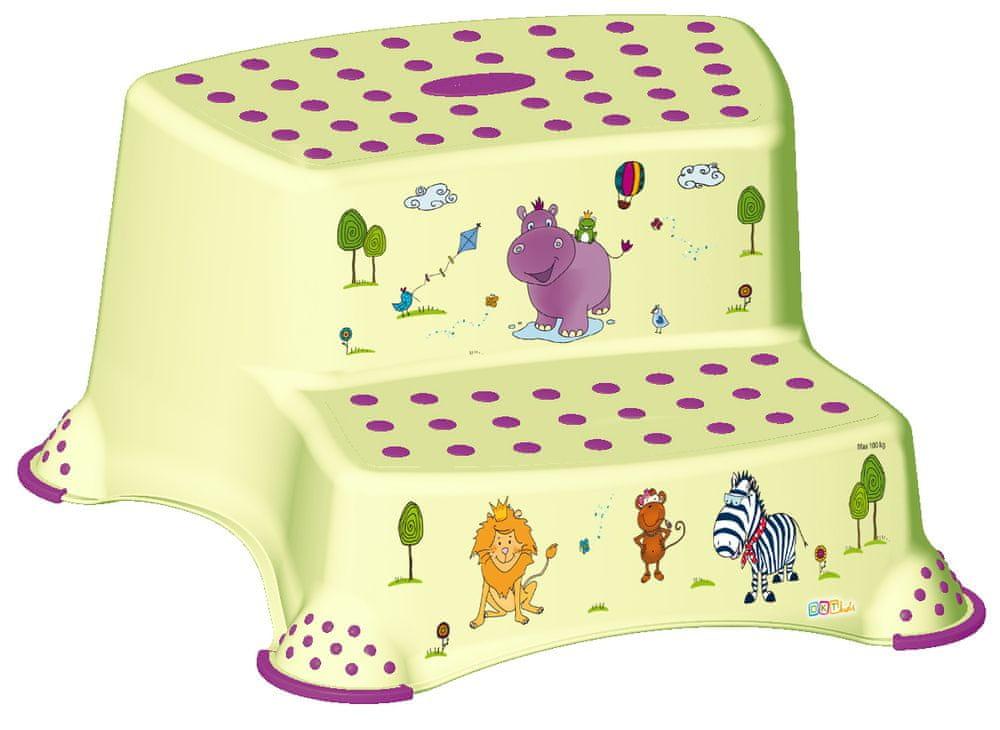 keeeper Dvojstupienok Hippo, zelená