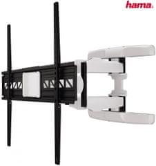 Hama Nástěnný držák TV XL, 118626, černá/bílá