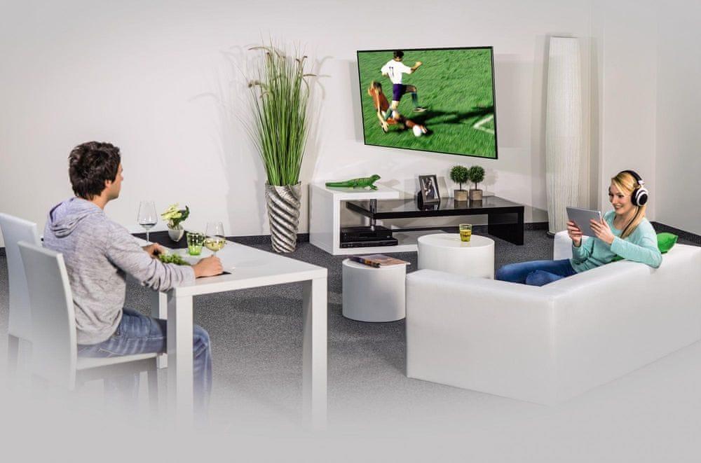 Hama Nástěnný držák TV XL, 118626, černá/bílá - rozbaleno