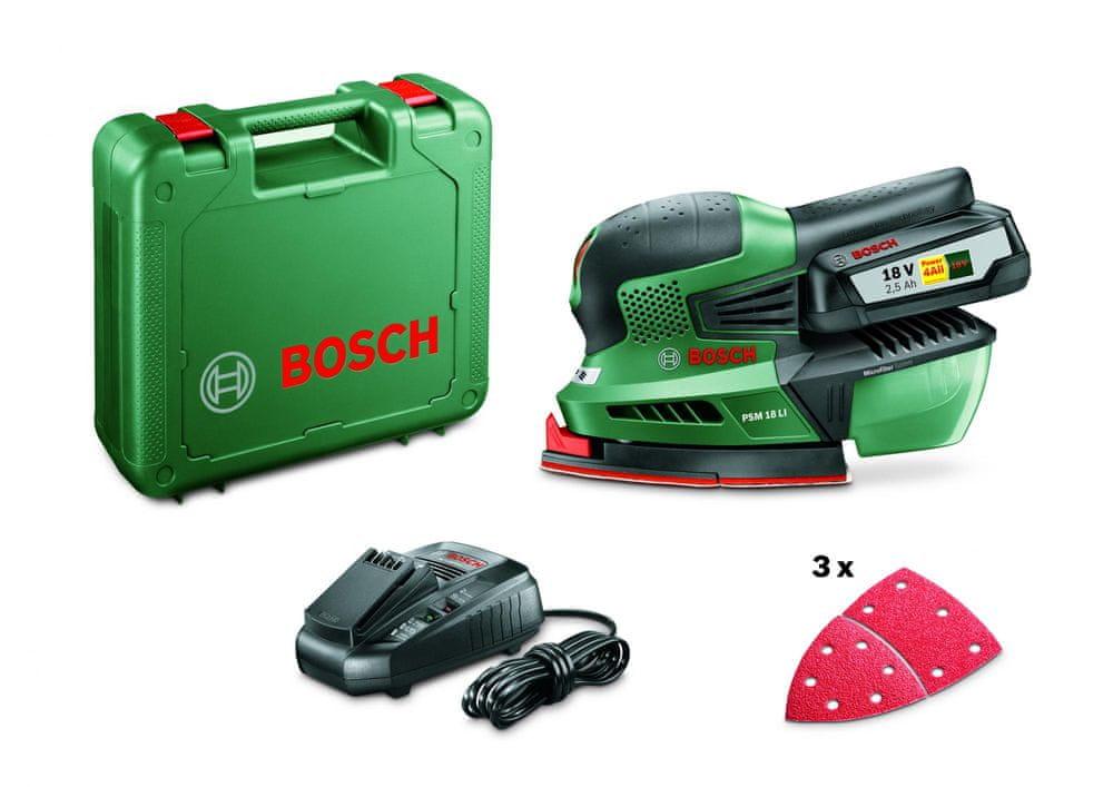 Bosch multibruska PSM 18 LI 06033A1323