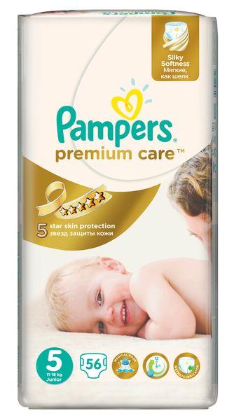Pampers Pleny PremiumCare 5 Junior - 56 ks