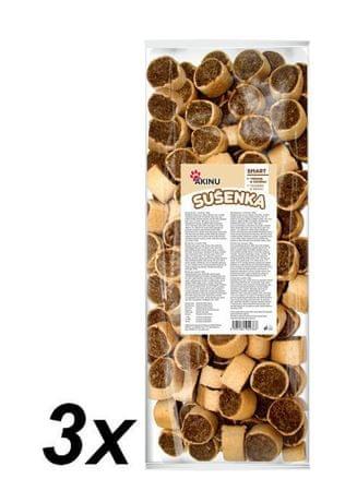 Akinu pasji piškoti, 3 x 1000 g