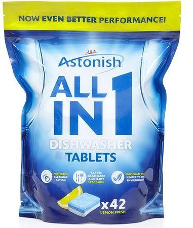 Astonish tablete za strojno pomivanje posode 5v1, 42 kosov