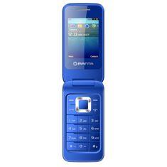 Manta Telefon FLIP TOUCH BLUE (TEL2405B)