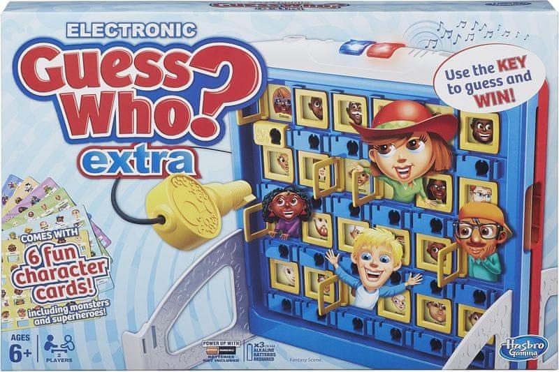 Hasbro Hádej kdo Extra 2015