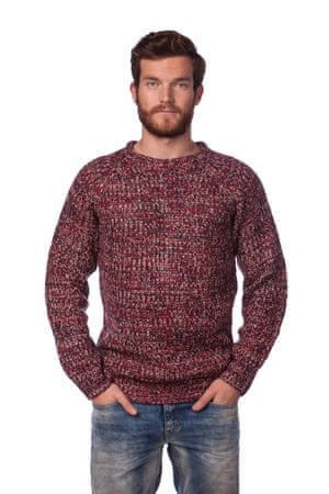 Brave Soul moški pulover Dawkins L rdeča