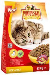 Propesko Csirkehús + Zöldség Száraz macskaeledel - 12 kg