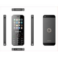 Manta Telefon MOBILE PHONE (MS2402B), czarny