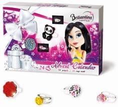 Bonaparte Adventný kalendár Briliantina 2015 prstienky