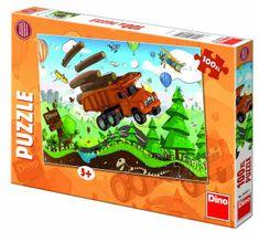 DINO Puzzle Tatra na cestách