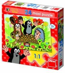 Dino Krteček Puzzle Maxi