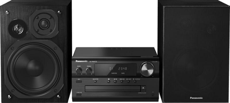 Panasonic SC-PMX70EG-K, černá