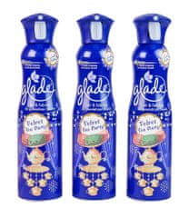 Glade by Brise Refresh Air Velvet Tea Party 3x 275 ml