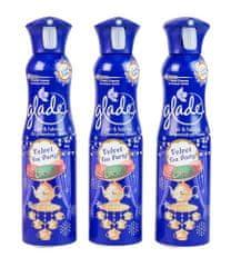 Glade Refresh Air Velvet Tea Party 3x 275 ml