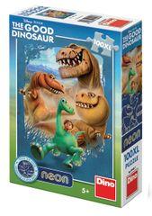 DINO puzzle Hodný Dinosaurus svietiaci v tme