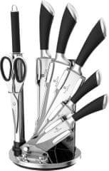 Berlingerhaus Sada nožov v stojane 8ks Perfect Kitchen