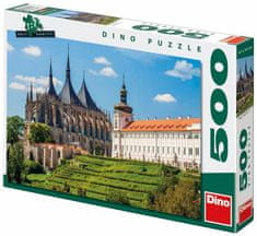 Dino puzzle Chrám svaté Barbory 500 dílků