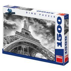 DINO ppuzzle Mračná nad Eiffelovkou 1500 dielikov