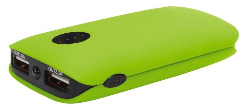 Platinet PowerBank 5000 mAh Green (PMPB5RG)