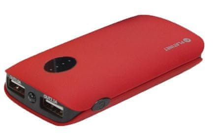 Platinet Powerbank 5000 mAh Red (PMPB5RR)