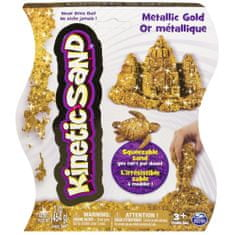 Kinetic Sand Metallic zlatý 454g