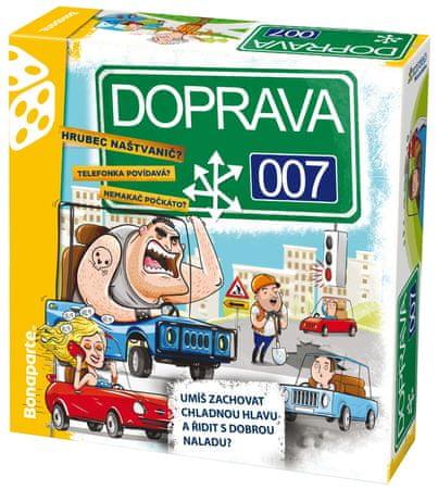 Bonaparte Doprava 007 spoločenská hra