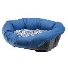 Ferplast pelech Sofa modrý se vzorem