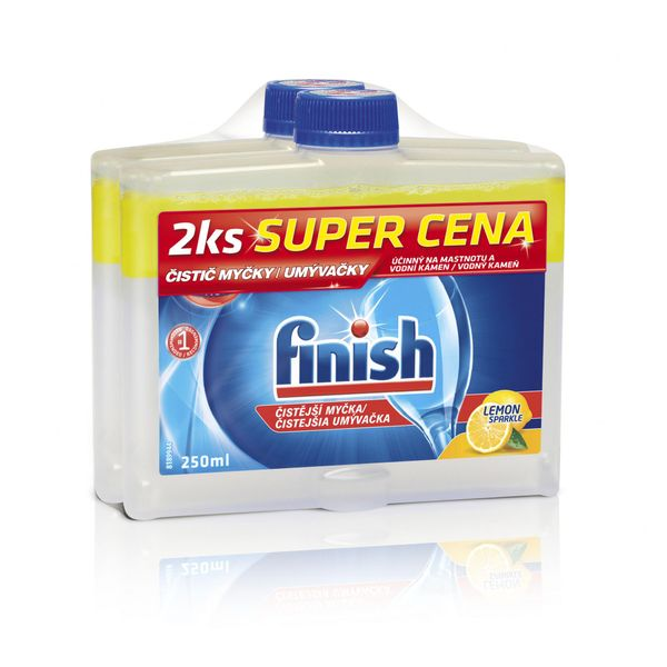 Finish Čistič myčky Lemon 250 ml DUO