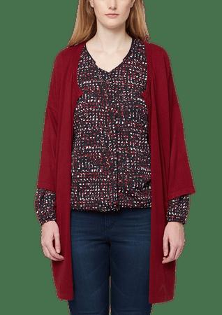 s.Oliver dámský svetr pro plnoštíhlé 50 červená