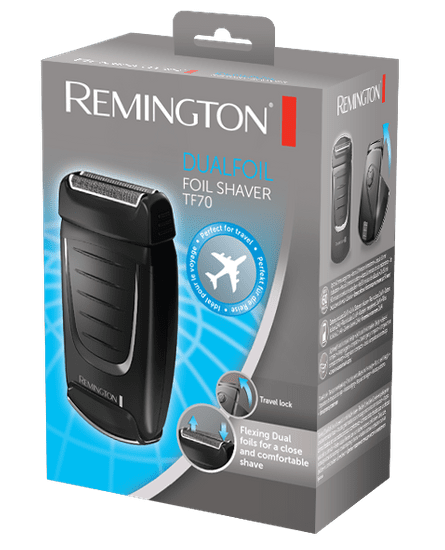 REMINGTON TF70 E51 Dual Foil Travel Shaver