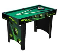 Dunlop Biliardový stôl 121x60x76 cm