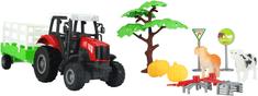 GearBox traktor z przyczepą 1:43