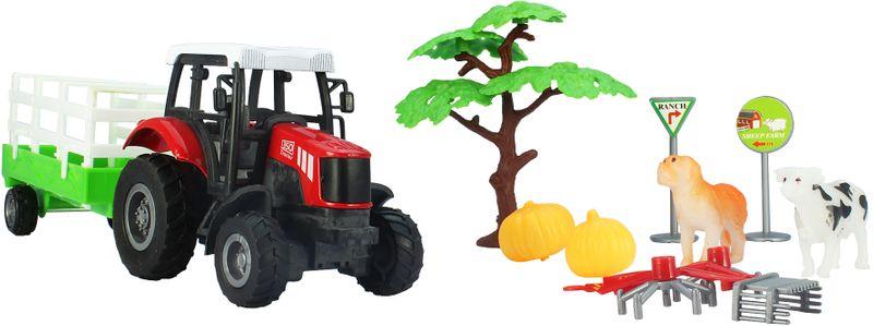GearBox Traktor s valníkem 1:43, 10 součástí