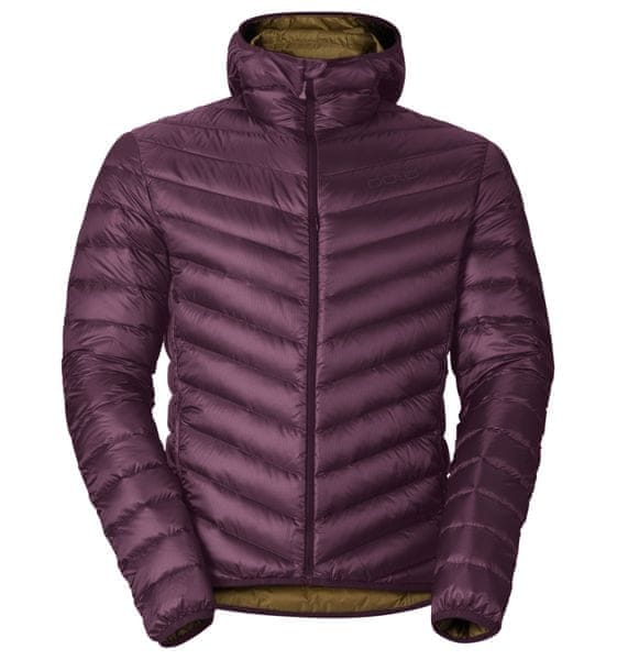 ODLO Air Cocoon Hoody Potent Purple/Dull Gold M