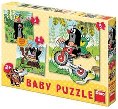 DINO puzzle Krtko na lúke