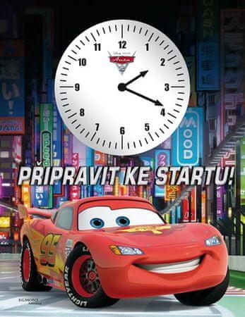 Disney Walt: Auta - Připravit, pozor…START (kniha s hodinami)