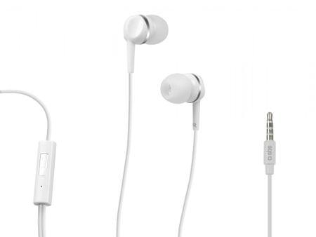 SBS stereo slušalke, bele
