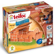 Teifoc 1021 Istálló Építőjáték