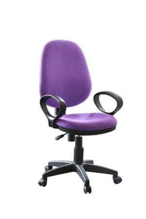 Pisarniški stol Patrik vijolična