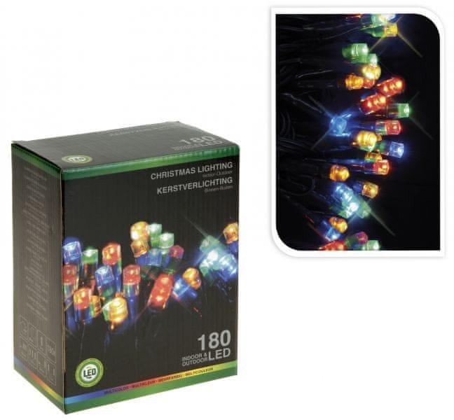 Metalac Svítící řetěz 80 LED multicolor