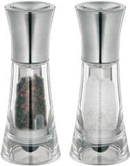 Küchenprofi Set mlynčekov na soľ a korenie NEW YORK