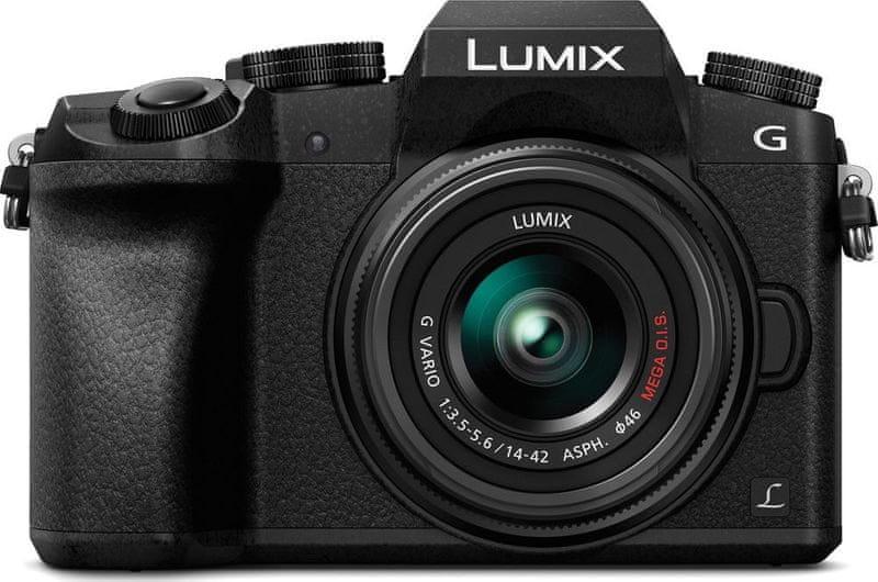 Panasonic Lumix DMC-G7 + 14-42 Black (DMC-G7KEG-K)