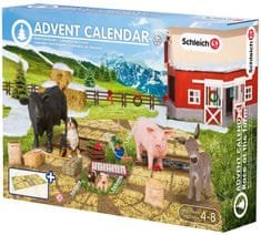 Schleich Adventný kalendár 2015 - Domáce zvieratá
