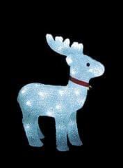 Noel Svítící sob s rolničkou LED