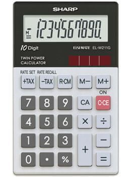 Sharp kalkulator ELW211GGY