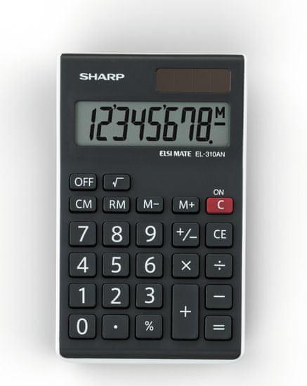 Sharp namizni kalkulator EL310ANWH (SH-EL310ANWH)
